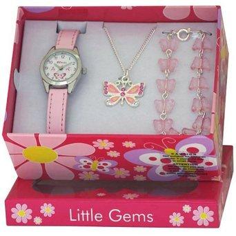 [Amazon] Ravel Schmuckset für Mädchen bestehend aus Uhr + Halskette + Armband + Geschenkbox für 10,99€ statt 17,45€