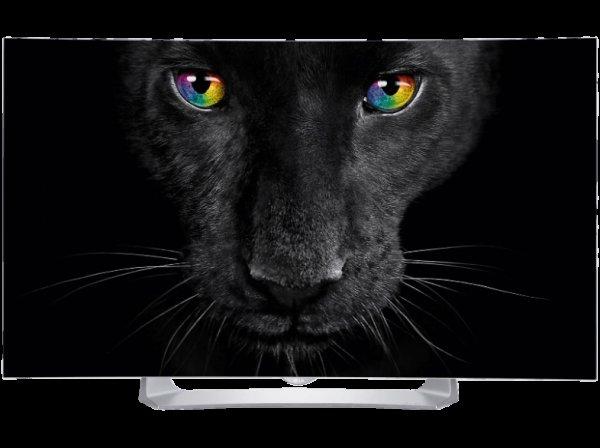 LG 55EG9109 OLED TV (Curved, 55 Zoll, Full-HD, 3D, SMART TV)