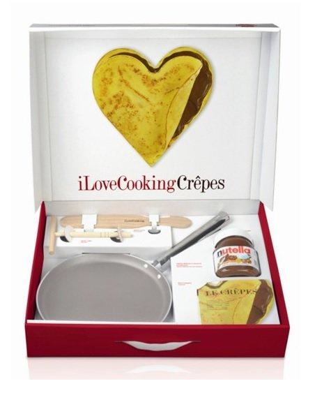 "[XXXL] Ballarini ""I Love Cooking"" Crepes Geschenkset mit Nutella"