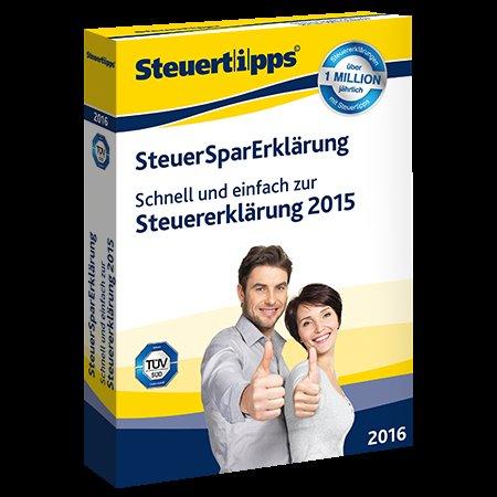 SteuerSparErklärung 2016 für 9,95 € (Akademische Arbeitsgemeinschaft) als Tchibo-Version @steuertipps.de