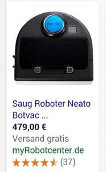 Staubsaugerroboter Neato Botvac D85 Aktion incl. 5 Jahre Garantie für 479,- € = 20% off auf myrobotcenter.de