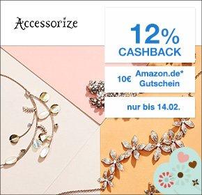 [Accessorize via Qipu] 12% Cashback + 10€ Amazon.de Gutschein ab 29€ Bestellwert - Dealbeispiele