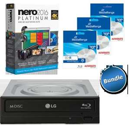 [ZackZack Bundle] Nero 2016 Platinum + LG BH16NS55 + 3x BD-R 25 GB