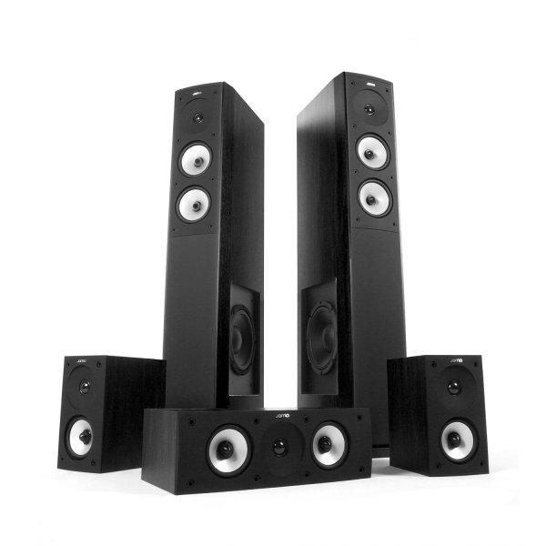 [ Amazon.de] Jamo S 626 HCS schwarz 5.1 Heimkinosystem 410€