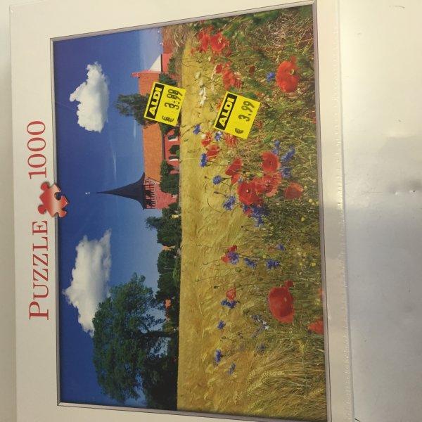 [Aldi Nord] Preisfehler Puzzle 1000 Teile statt 3,99€ nur 3,00€