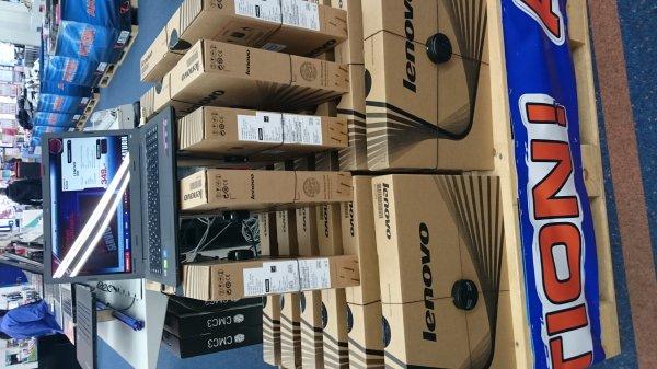 """[Lokal Saturn Passau] Lenovo IdeaPad 100-15 - 15,6"""", Intel Core i3-5005U, 4GB RAM, 1 TB HDD, HDMI, Win 10 für 349 Euro"""