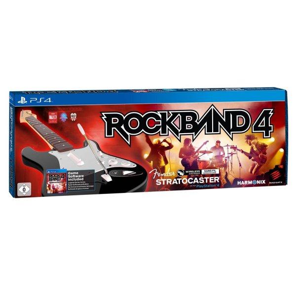 [PS4] Rock Band 4 + Gitarre für 73,83€ inkl. Versand bei Amazon.es (Idealo 120€) >UPDATE: Jetzt nur 71,42€