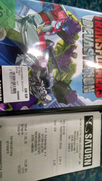 [lokal] Transformers Devastation PC für 9,99€ bei Saturn Hamburg-Altstadt