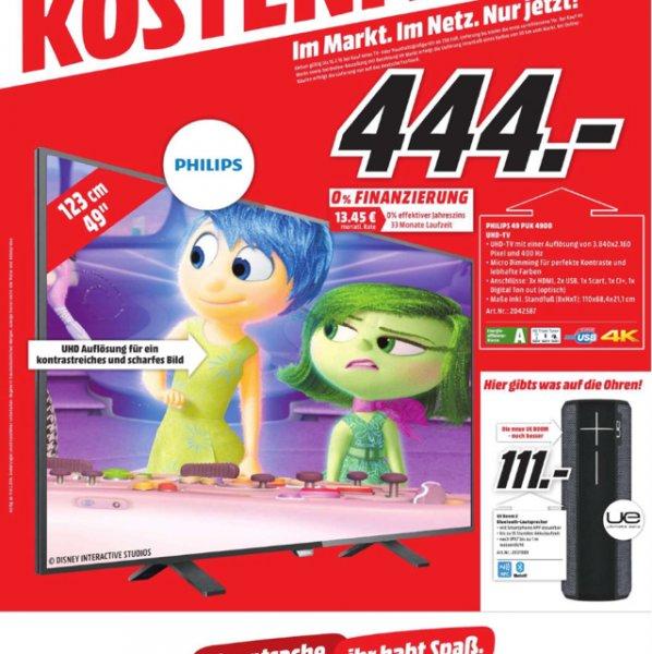 Philips 49 PUK 4900 UHD-TV - Lokal Berlin