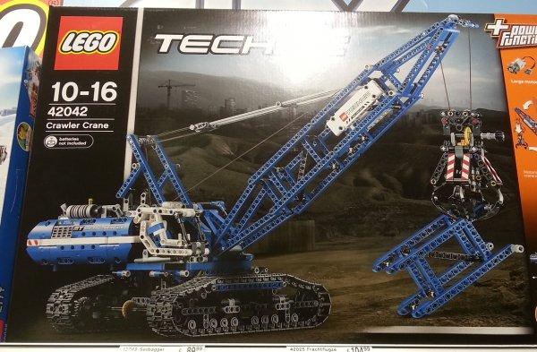 [Galeria Kaufhof] [Lokal] [Wuppertal] Lego Technic Seilbagger (42042)