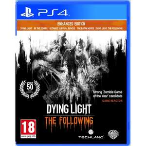 Dying Light The Following Enhanced Edition PS4 Spiel