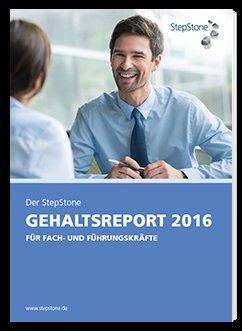 StepStone Gehaltsreport 2016