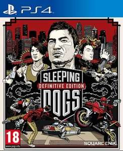 Sleeping Dogs Definitive Edition (PS4) für 19,90 € [Gameware.at]