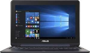 [amazon] Asus Flipbook TP200SA 29,5 cm (11,6 Zoll) Convertible Tablet-PC (2GB RAM, 32GB eMMc, Intel HD Graphics, Win 10 Home) blau mit Intel Celeron N3050 / N3700