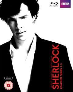 Sherlock Staffeln 1-3 (BluRay, UK-Import)