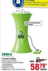 JOOLA Roboter TT Buddy Tischtennistrainingspartner / METRO