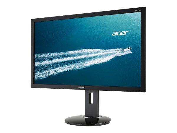 Acer CB270HU - 27 Zoll WQHD Monitor (DVI, HDMI (MHL), Displayport, Höhenverstellbar, Pivot, 6ms Reaktionszeit, Lautsprecher) für 359€ bei Amazon.de