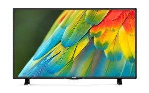 """43""""/109 cm Sharp LED-TV Triple Tuner DVB-T/T2/C/S/S2 3 x HDMI Ci+ [KAUFLAND] ab dem 15.02.2016"""