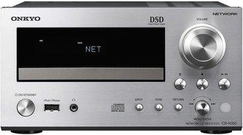 Onkyo CR-N765 (S) Netzwerk HiFi-Mini Receiver (22W/?Kanal, CD, Hi-Res Audio, DSD, dlna, Spotify Connect, USB) für 330,54 € bei Cyberport.de