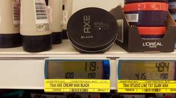 [Metro evtl. bundesweit] Axe Cream Wax Black