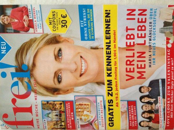 Offline: Kostenlose Frauenzeitschrift, nix lokal
