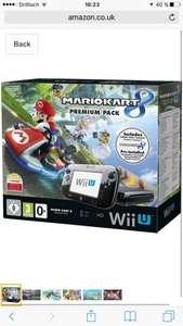 [Amazon.co.uk 260€ Nintendo Wii U Premium Pack schwarz, 32GB inkl. Mario Kart 8 (vorinstalliert)