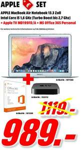 Apple Mac Book Air Notebook + Apple TV +  MS Office 365 Personal  + kostenlose Lieferung in DE