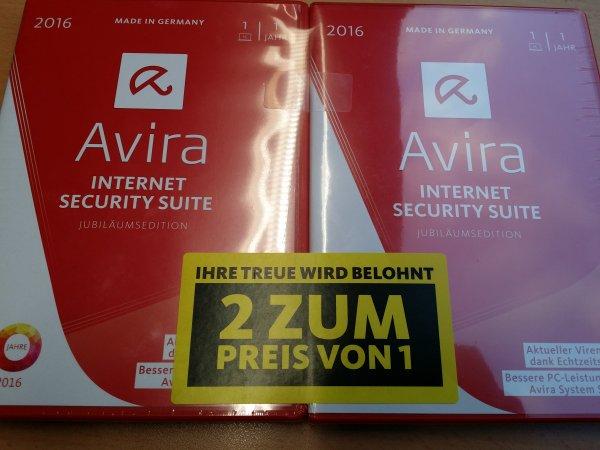 """[Media Markt in Berlin Alexander Platz und Saturn] Avira Internet Security """"Jubiläumsedition"""""""