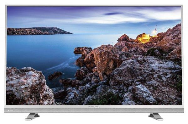 Grundig 49 VLE 8510 SL (49 Zoll) LED-TV, Full HD, 700 Hz, Triple Tuner, Smart TV, CI+, WLAN/DLNA/MHL, Bluetooth, USB Recording für 446,25€ bei Amazon.de