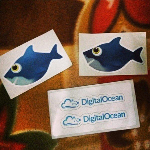 Sticker von Digital Ocean