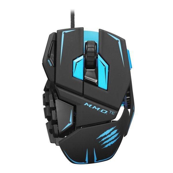 Gaming-Mouse MadCatz Cyborg M.M.O TE blau [B-Ware @ Amazon.de WHD]