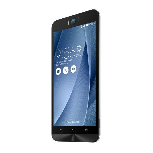 Asus Zenfone Selfie ZD551KL, 3GB RAM, 32 GB interner Speicher, silber, deutscher Händler