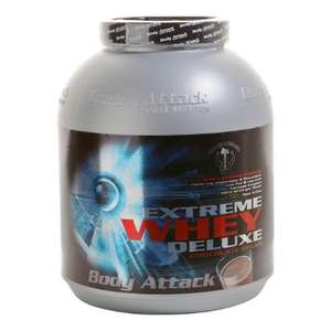 Body Attack | EXTREME-WHEY DELUXE Protein | chocolate-cream 2,3kg