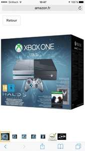 [Amazon.fr] 404,83€Xbox One Console (1TB) (Limited Edition) + Halo 5: Guardians