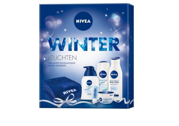 Nivea Geschenkset (plus gratis Handtuch, für Frauen)  9,17 € für AmazonPrimeKunden bis 15 UHR !!!