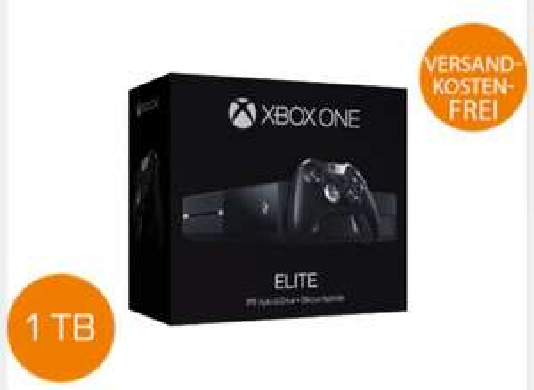 @saturn Xbox One 1TB Elite Bundle inkl. SSD-Hybrid Festplatte, 14-tägige Xbox Live-Mitgliedschaft, Xbox One Wireless Elite Controller, 4K-HDMI-Kabel & Xbox One Headset