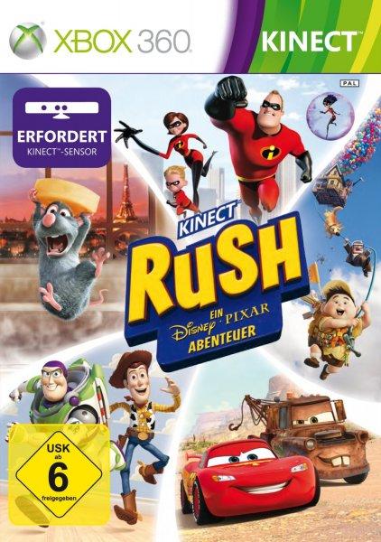 [Saturn Online] Kinect Rush: A Disney Pixar Adventure - Xbox 360 für nur 4,99€ inkl. Versand
