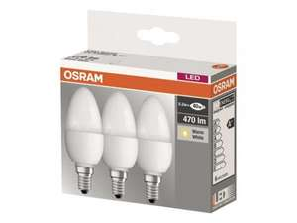 [Bauhaus] 3 Stück OSRAM LED B40 / E14 inkl Lieferung 9,99 Euro (Amazon 16 Euro)