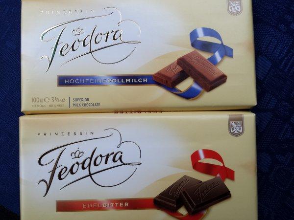 Feodora Tafelschokolade.