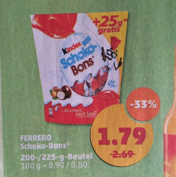 @penny: Kinder Schokobons 200g + 25g gratis   ab 15.02