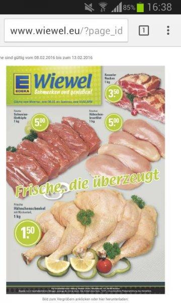 Hähnchenschenkel mit Rückenanteil nur 1,50 Euro je Kg bei Edeka(lokal)