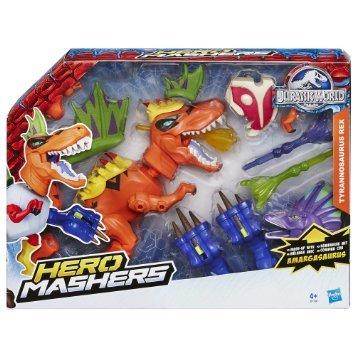 [Amazon Prime] Hasbro B1198EU4 Jurassic World Hero Mashers T-Rex Dino Pack