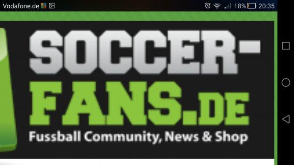 soccer-fans-shop.de mit der app 65% auf alles