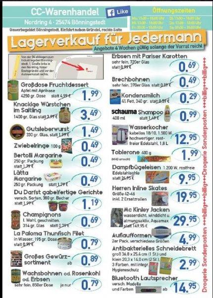 ( CC Warenhandel Bönningstedt ) Lätta + Bertolli Margarine 250g zum Sonderpreis