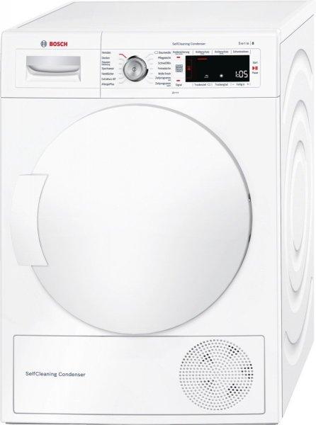 BOSCH WTW 845 W 0, 8 kg Kondensationstrockner mit Wärmepumpentechnologie, A+++,