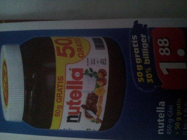 [Famila Nordost] Nutella 500 Gramm Glas!