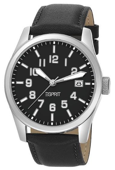 [allyouneed.com] Esprit Axesse Pure black ES103152006 Damen oder Herrenuhr mit Lederarmband für je 19,90€ incl.Versand!