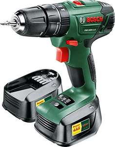 AMAZON.CO.UK Bosch PSB 1800 LI-2 Cordless mit 2 AKKU Packs(2 x 18 V Batteries, 1.5 A) für 109,24 Euro inkl. Versand