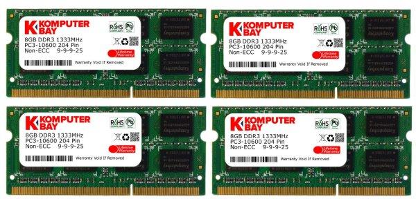 32GB PS1333 NoName Arbeitsspeicher (Amazon Prime) SO-DIMM!