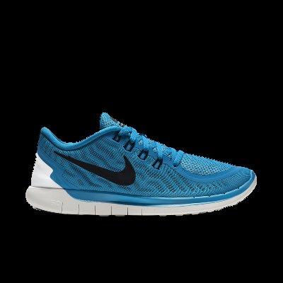 [nike.de] Nike Free 5.0 orange und blau Herren Laufschuh 67,19€